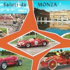 Postales: MONZA (ITALIA), SALUDOS DESDE MONZA - GM Nº 34 - SIN CIRCULAR. Lote 37221055