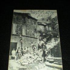 Postales: TARJETA POSTAL. TREMBLEMENT DE TERRE DES (B.-DU-RH.) 11 JUIN 1909. PÉLISSANNE. 1909.. Lote 37237912