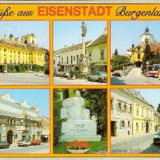 Postais: EISENSTADT, BURGENLAND (AUSTRIA), VARIAS VISTAS -VERLAG KURT FACH Nº 7000 - SIN CIRCULAR. Lote 37296182