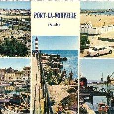 Postales: PORT LA NOUVELLE, AUDE (FRANCIA), VISTA GENERAL - MEXICHROME - SIN CIRCULAR. Lote 37310658