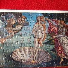 Postales: POSTAL PUZZLE ITALIA NACIMIENTO DE VENUS . MUY RARA. Lote 37414794
