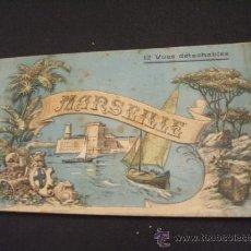 Postales: COLECCION 12 POSTALES - MARSELLA - BOURELLY EDITOR - MARSEILLE - . Lote 37437353