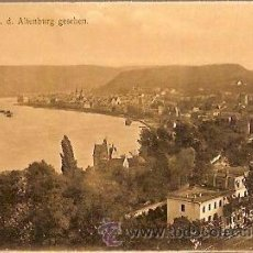 Postales: ANTIGUA POSTAL BOPPARD V D ALTENBURG GESEHEN ALEMANIA. Lote 37493127