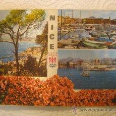 Postales: NIZA (FRANCIA),CIRCULADA, T6931. Lote 37542879