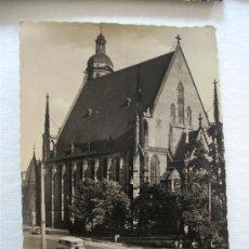 Postales: POSTAL ALEMANA AÑOS 50/60: MESSESTADT LEIPZIG, THOMASKIRCHE (SIN CIRCULAR). Lote 37600878