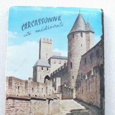 Postales: BLOC MINI DE 10 POSTALES DE CARCASSONNE CITE MEDIEVALE - FRANCIA AUDE. Lote 37840039