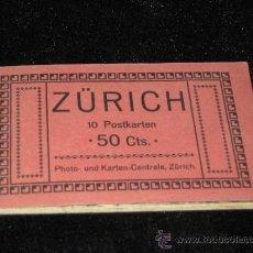Postales: 10 POSTALES DE ZURICH - SUIZA - VER ADICIONALES. Lote 37967704