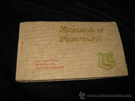 24 POSTALES DE MONACO Y MONTECARLO (Postales - Postales Extranjero - Europa)