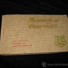 Postales: 24 POSTALES DE MONACO Y MONTECARLO. Lote 37967798
