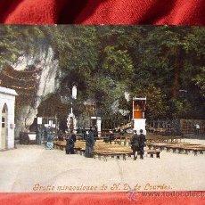 Postales: GRUTA DE LOURDES. POSTAL CIRCULADA EN 1904.. Lote 38243000