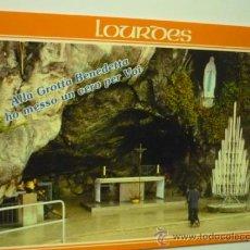 Postales: POSTAL LOURDES - GRUTA MILAGROSA. Lote 38389848