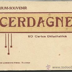 Postales: CERDAGNE.-ALBUM-SOUVENIR.-20 CARTES DETACHABLES.-PHOTOTYPIE LABOCHE FRERES. Lote 38621740