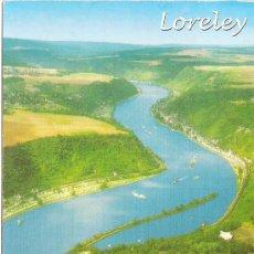 Postais: LORELEY (ALEMANIA), VISTA GENERAL - RAHMEL VERLAG - CIRCULADA. Lote 38670113