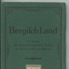 Postales: BERGISCH LAND.- ALEMANIA.- 12 POSTALES.-. Lote 38686289