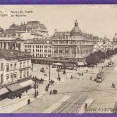 Postales: BELGICA - ANVERS / AMBERES - AVENUE DE KEYSER - NUEVA - AÑOS 20 - RD11. Lote 38705538