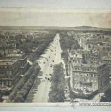 Postales: PARÍS. EN FLANANT. L´AVENNUE BOIS-DE-BOULOGNE VUE DEL´ARC TRIOMPHE. Lote 38865748