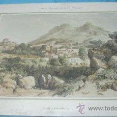 Postales: ANTIGUA LITOGRAFIA PORTUGUESA PORTUGAL EN COLOR VISTA DE SINTRA. Lote 38921420