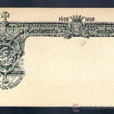Postales: CENTENARIO DA INDIA 1498 1898 VASCO DE GAMA 20 REIS MATASELLO TONGRES HISTORIA POSTAL INDIAS PORTUGA. Lote 39033317