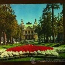 Postales: MÓNACO - CASINO DE MONTECARLO. Lote 39024588