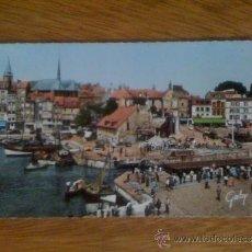 Postales: HONFLEUR (CALVADOS). LA LIEUTENANCE ET LE VIEUX BASSIN. ESCRITA. FOTO REAL, C. 1960. . Lote 39039331