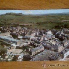 Postales: CARIGNAN (ARDENNES). LA IGLESIA. VISTA AÉREA. FOTO REAL. ESCRITA. C. 1960. Lote 39039475