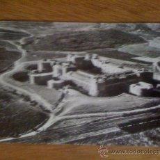 Postales: SALSES (PIRINEOS ORIENTALES). EL CASTILLO. VISTA AÉREA. FOTO REAL. CIRCULADA EN 1960. . Lote 39039755
