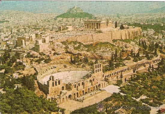 wielka wyprzedaż uk popularne sklepy specjalne do butów Atenas (grecia), vista aerea acropolis y colina - Sold ...