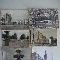 Postales: LOTE SEIS POSTALES ANTIGUAS DE FRANCIA, AÑOS 60-70. Lote 39088795