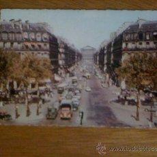 Postales: PARIS. L´AVENUE DE L´OPÉRA. EDITIONS CHANTAL 616. SIN CIRCULAR. . Lote 39091451