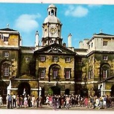 Postales: POSTAL A COLOR HORSE GUARDS WHITEHALL LONDON. Lote 39238555