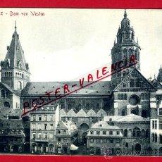 Postales: POSTAL MAINZ, ALEMANIA, DOM VON WESTEN, P79446. Lote 39260580