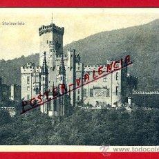 Postales: POSTAL SCHLOSS, ALEMANIA, STOLZENFELS, P79472. Lote 39278572