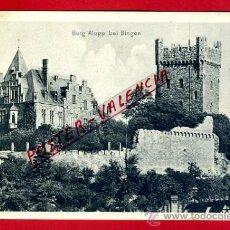Postales: POSTAL BINGEN, ALEMANIA, BURG KLOPP, P79473. Lote 39278576