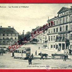 Postales: POSTAL FRIBOURG, SUIZA, LE CONVICT ET L´HOPITAL, P79595. Lote 39296910