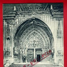 Postales: POSTAL FRIBOURG, SUIZA, CATHEDRALE, P79613. Lote 39310185