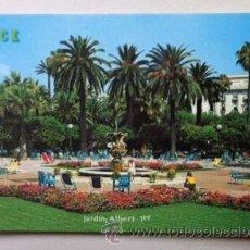 Postales: NIZA - NICE - JARDIN ALBERT . Lote 39458314