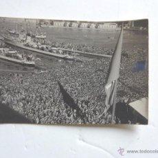 Postales: POSTAL DE TRIESTE . FOTO HISTORICA DE CUANDO TRIESTE VOLVIO A SER ITALIANA. 1954. Lote 39461579