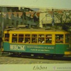 Postales: POSTAL PORTUGAL TRANVIA -LISBOA. Lote 39559042