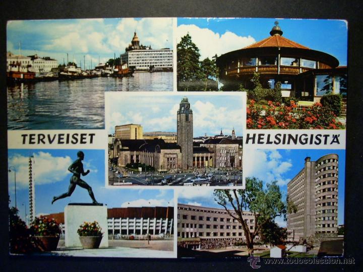 5273 EUROPA FINLANDIA FINLAND UUSIMAA HELSINKI HELSINGFORS POSTCARD AÑOS 60/70 - TENGO MAS POSTALES (Postales - Postales Extranjero - Europa)