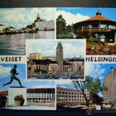 Postales: 5273 EUROPA FINLANDIA FINLAND UUSIMAA HELSINKI HELSINGFORS POSTCARD AÑOS 60/70 - TENGO MAS POSTALES. Lote 39758307