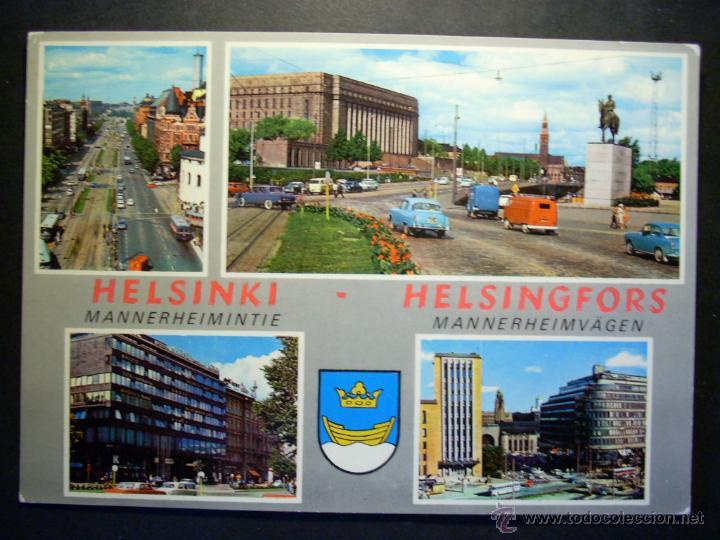5274 EUROPA FINLANDIA FINLAND UUSIMAA HELSINKI HELSINGFORS SUOMI AÑOS 60/70 - TENGO MAS POSTALES (Postales - Postales Extranjero - Europa)