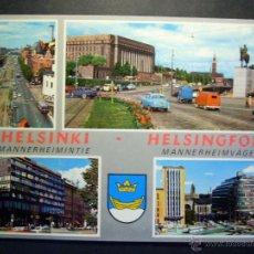 Postales: 5274 EUROPA FINLANDIA FINLAND UUSIMAA HELSINKI HELSINGFORS SUOMI AÑOS 60/70 - TENGO MAS POSTALES. Lote 39758350