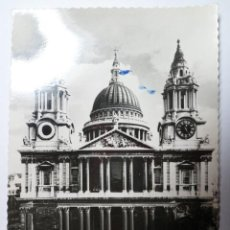 Postales: POSTAL SIN CIRCULAR- ST. PAUL'S CATHEDRAL, LONDON. Lote 40116239