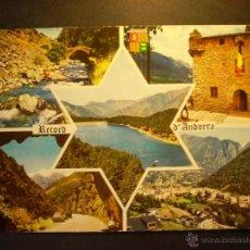 Postales: 5355 EUROPA VALLE DE ANDORRA POSTCARD POSTAL AÑOS 60/70 CIRCULADA SIN SELLO - TENGO MAS POSTALES. Lote 40207762