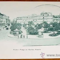 Postales: ANTIGUA POSTAL DE OPORTO - PLAZA DE CARLOS ALBERTO - NO CIRCULADA - SIN DIVIDIR.. Lote 38237897