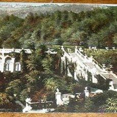 Postales: ANTIGUA POSTAL DE TRIESTE - ITALIA - GIARDINO MIRAMARE - CIRCULADA.. Lote 38248027
