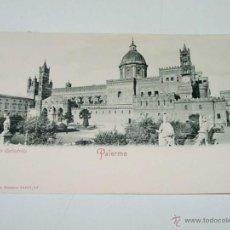 Postales: VECCHIA CARTOLINA POSTALE - ITALIA - PALERMO - LA CATTEDRALE - ROMMLER & JONAS - 14457 - NO SPLI. Lote 38269219