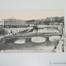 Postales: ANTIQUE CARTE POSTALE - FRANCE - BAYONNE - LE PONT MAYOU ET LE THEATRE - ND PHOT - NE CIRCULENT PAS. Lote 38269246