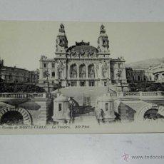 Postales: ANTIQUE CARTE POSTALE - FRANCE - MONACO - CASINO DE MONTE CARLO - LE THEATRE - ND PHOT. - 525 - NE C. Lote 38269884