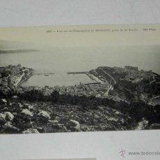 Postales: ANTIQUE CARTE POSTALE - FRANCE - MONACO - VUE SUR LA PRINCIPAUTE DE MONACO, PRISE DE LA TURBIE - ND . Lote 38269886